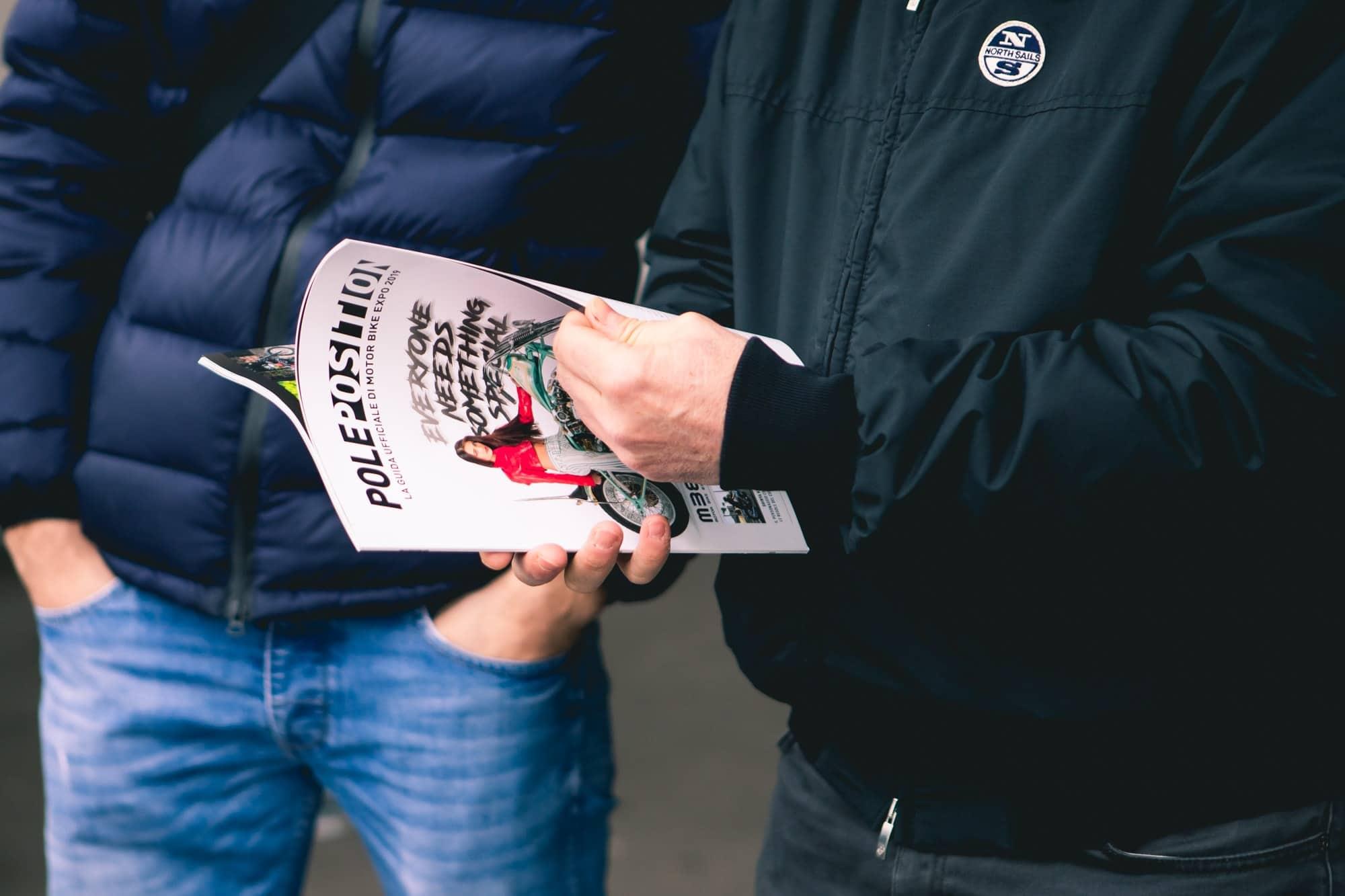 La rivista Pole Position è la guida ufficiale di Motor Bike Expo