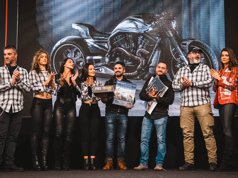 contest Metzeler Motor Bike Expo