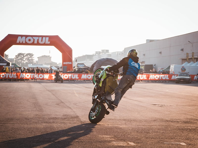 contest Stuntman Motor Bike Expo